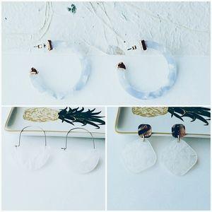 SALE💥SUGARFIX by BaubleBar Earrings Lot Of 3